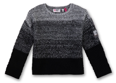 GEORGE GINA & LUCY girls Strick-Pullover super black ---NEU---