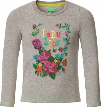 "Room Seven® Sweatshirt Home ""Fabulous"" grey melee"