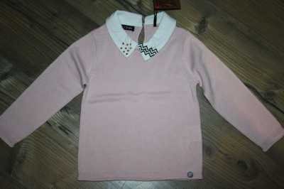 Sorry4theMess Pullover rose poudre