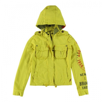 Rags Industry outdoor Jacke Newhall yellow
