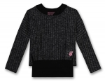 GEORGE GINA & LUCY girls 2in1 Ripp-Pullover super black ---NEU---