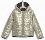 IKKS Cosy Winter Wende-Steppjacke or/noir ---NEU---