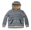 moodstreet boys outdoor Teddy-Sweatjacke jeans ---NEU---