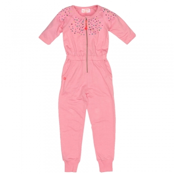 Mim-Pi Happy 3/4 Arm Jumpsuit/Overall pink