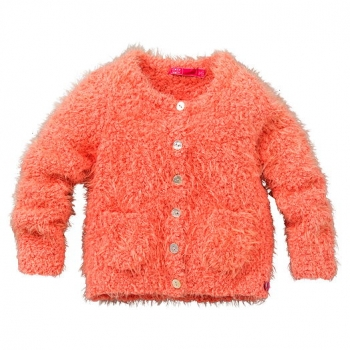 Cakewalk Mini Strickjacke Pien washed peach