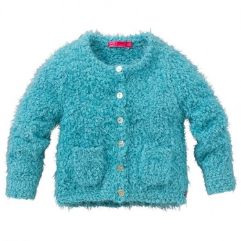 Cakewalk Mini Strickjacke Pien misty blue