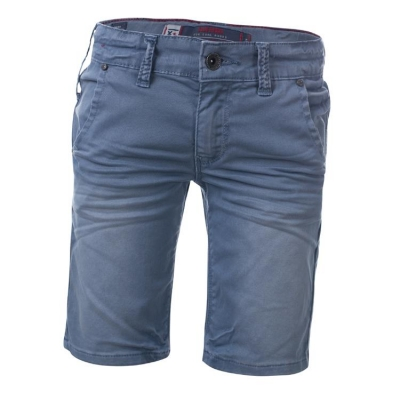 Blue Rebel Boys Chino Bermuda/Shorts steel