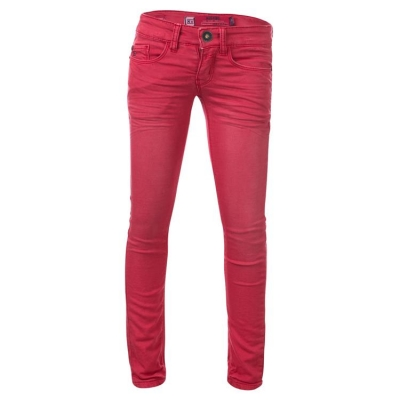 Blue Rebel comfy ultra skinny Jeanshose Pyrope strawberry