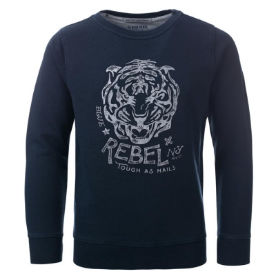 "Blue Rebel spot on Sweatshirt ""Tiger"" night"