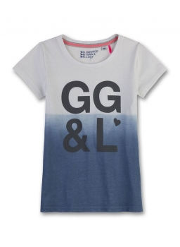 GEORGE GINA & LUCY girls Logo T-Shirt dusty blue