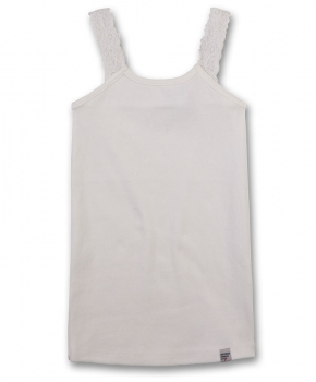 GEORGE GINA & LUCY girls Ripp-Tanktop ivory