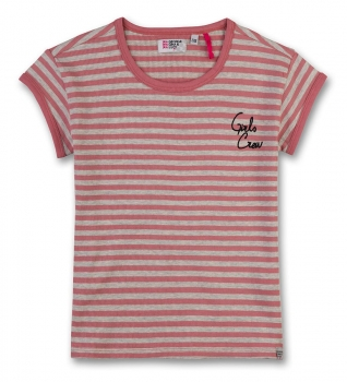 GEORGE GINA & LUCY girls Ringel-Ripp-T-Shirt dusty rose