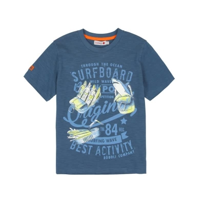 "boboli kids boy ""Virtual Cuba"" T-Shirt adriatic"