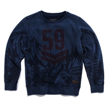 Jake Fischer Sweatshirt King indigo