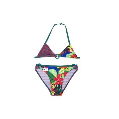 "boboli kids girl ""Papaya Club"" Bikini estampado"