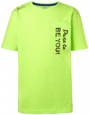 NOP boys T-Shirt Lyons light yellow