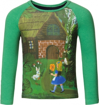 "Room Seven® Langarmshirt Tammy ""la Maison"" light green"