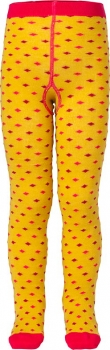 Room Seven® Tupfen Strumpfhose Mint tiny dots yellow