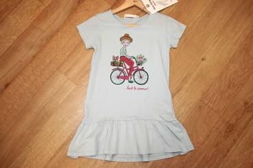 "nice things Kurzarm-Jerseykleid ""Nicy Bike"" mint"