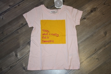 "nice things T-Shirt ""Geometric"" light pink"