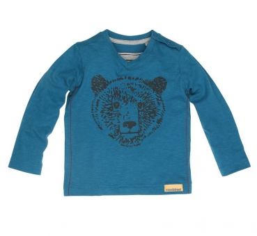 moodstreet Mini boys Langarmshirt warm teal