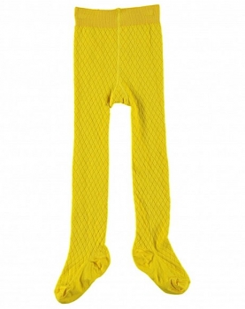 "LeBig ""Argyle"" basic Strumpfhose egg yellow"