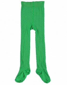 "LeBig ""Argyle"" basic Strumpfhose apple green"