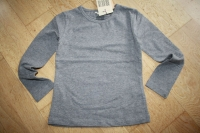 NONO Winter basic Langarmshirt dark grey melange