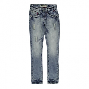 Rags Industry schmale Jeanshose Melin torn up wash