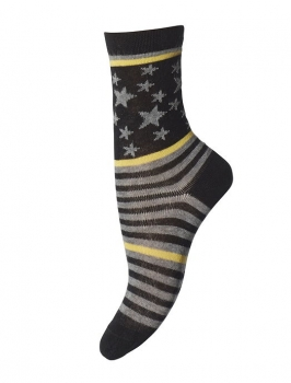 MP Socken Running Star yellow