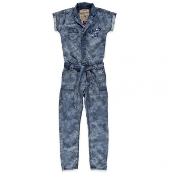 Rags Industry Betties Jumpsuit Cameron palm ink