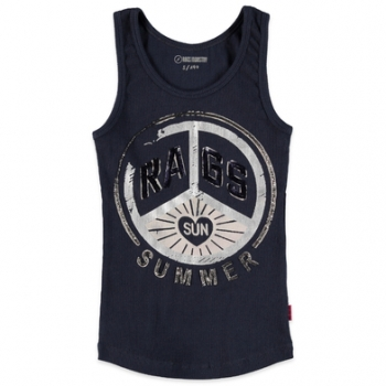 Rags Industry Betties Ripp-Tanktop Jacky indigo
