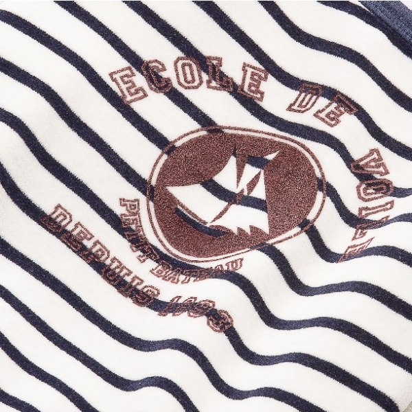 petit bateau jungen nicki schlafanzug pyjama logo lait. Black Bedroom Furniture Sets. Home Design Ideas
