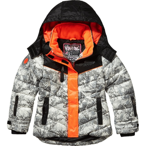ronjas vingino hooded quilted ski