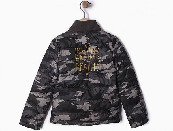 9a68170864c5b www.ronjas-raeuberlaedchen.de - ikks garcon 100% jacket quilted ...