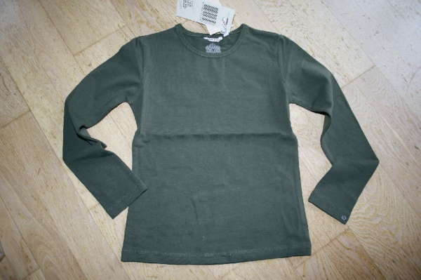 NONO Winter basic Langarmshirt army
