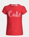 "Jill T-Shirt Teen ""Cute"" persian red"