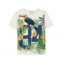 "boboli kids boy ""Virtual Cuba"" T-Shirt crudo vigoré ---NEU---"