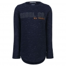 Blue Rebel spot on Jungen Sweatshirt steel