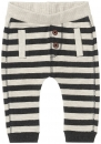 noppies baby boy gestreifte Jerseyhose Illinois charcoal melange