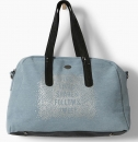 WAY by IKKS Bubble Black Tasche/Weekender beach blue