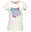 "moodstreet organic T-Shirt ""Tiger"" off white"