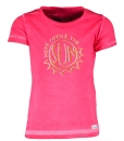 "moodstreet T-Shirt ""here comes the sun"" deep pink"